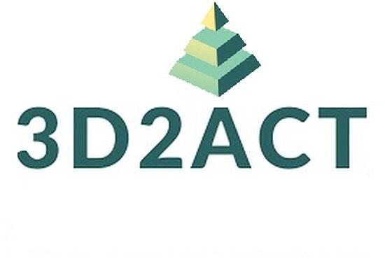 """1ο Ενημερωτικό Δελτίο του Erasmus+ KA201 με τίτλο """"3D2ACT"""""""